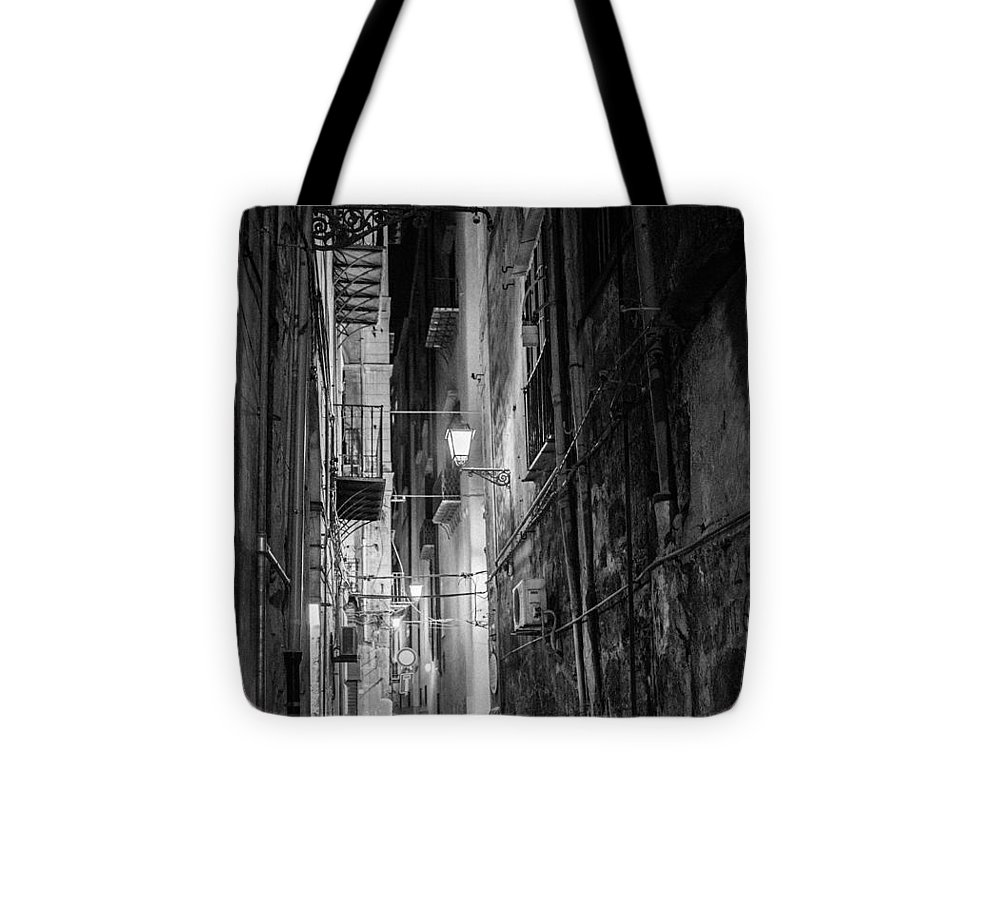 3rd World Tote Bag featuring the photograph Night In Palermo by Patricia Hamilton