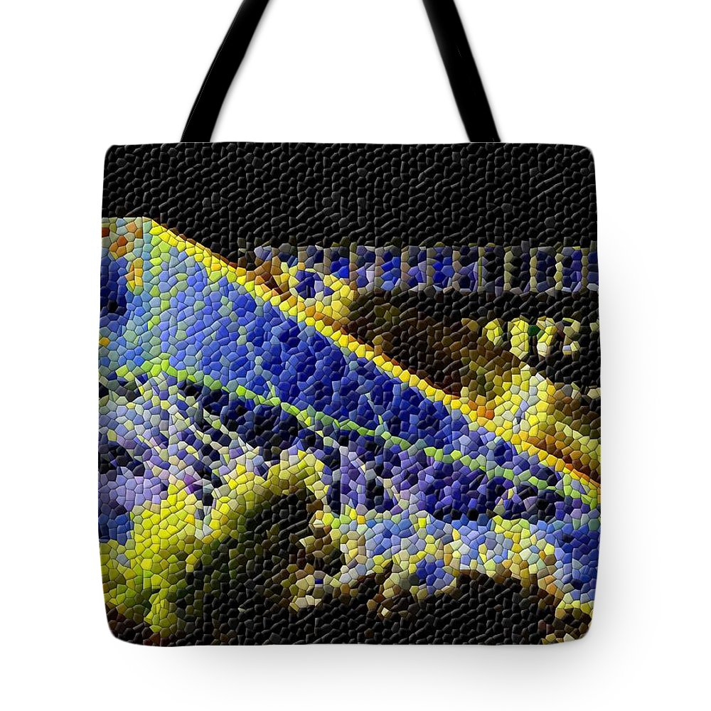 Seattle Tote Bag featuring the photograph Night Lights by Tim Allen