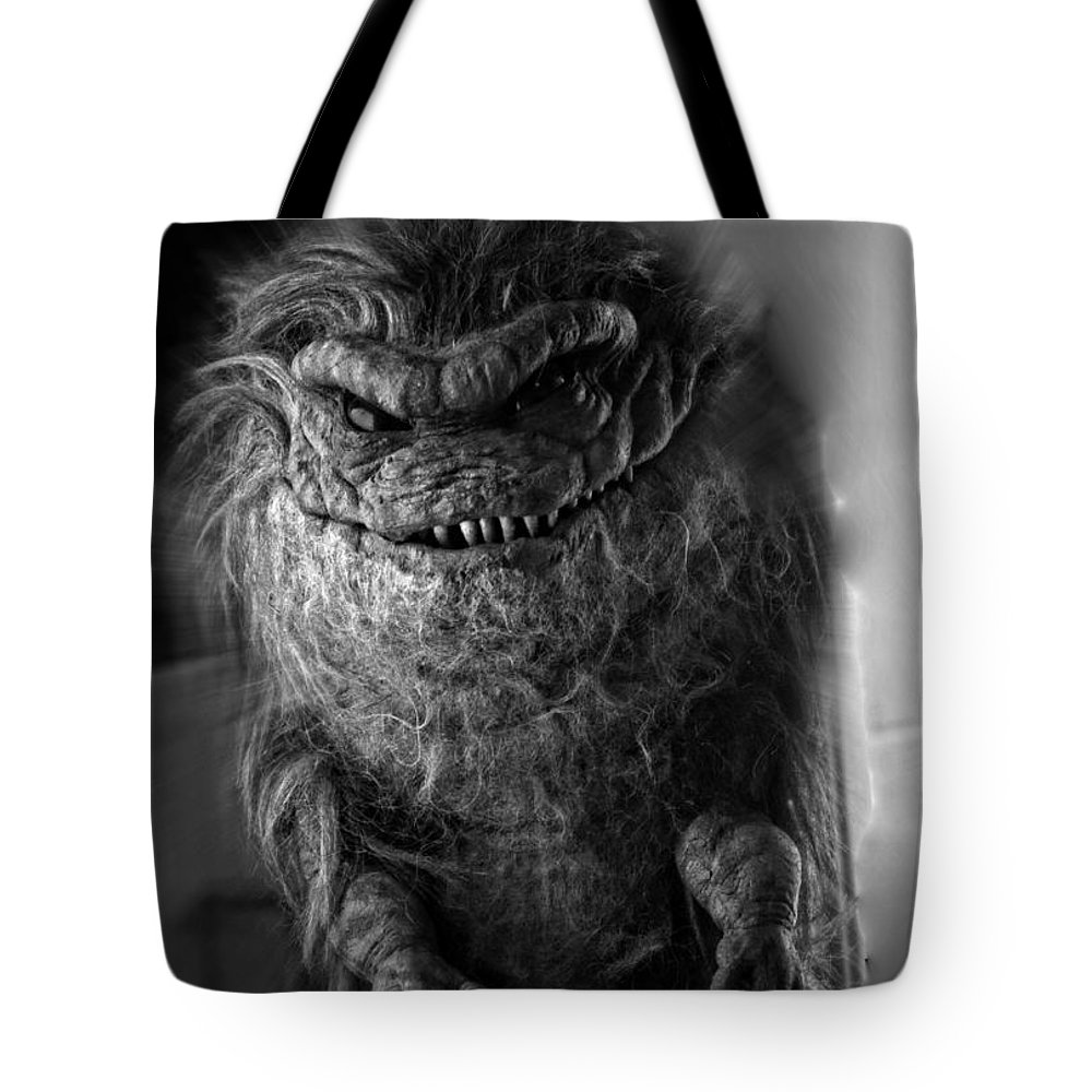 Goblin Tote Bag featuring the photograph Nightmare by Frank Larkin