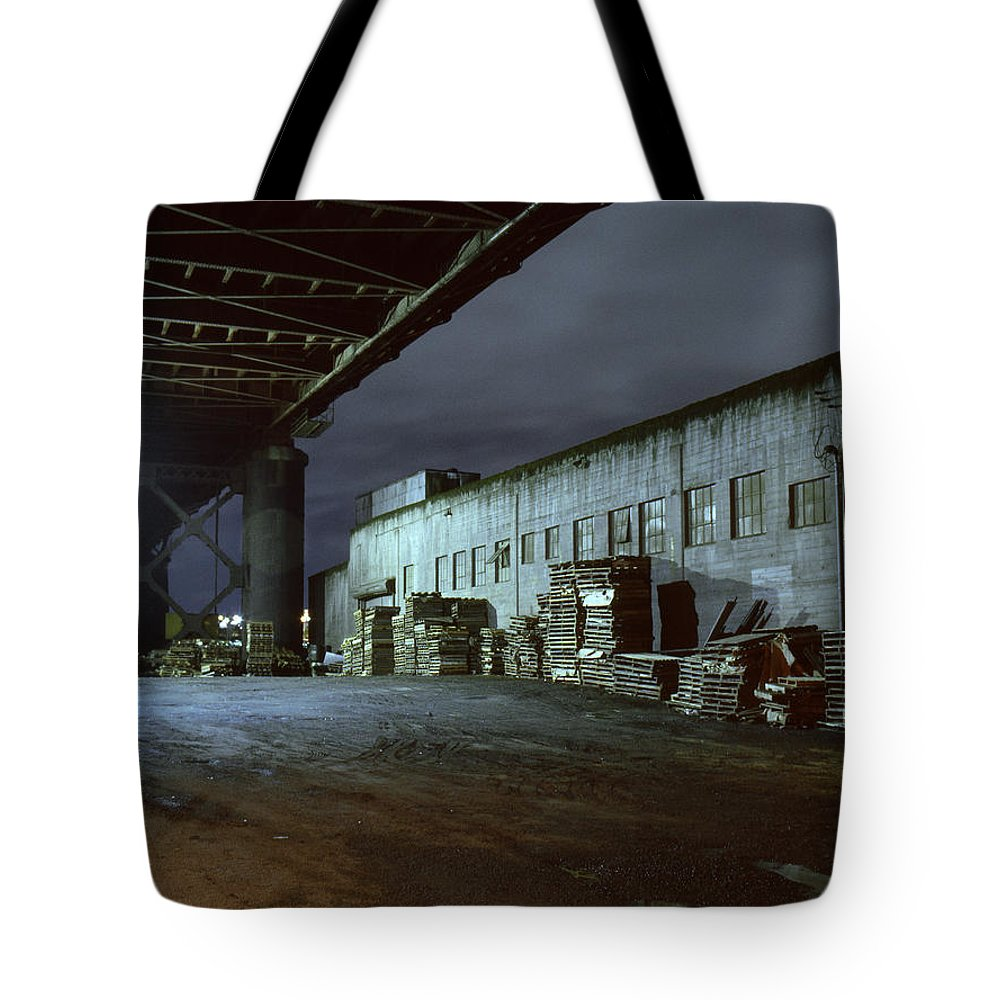 Nightscape Tote Bag featuring the photograph Nightscape 1 by Lee Santa