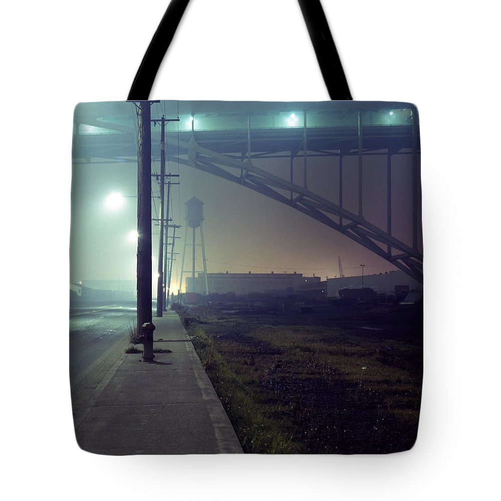 Night Photo Tote Bag featuring the photograph Nightscape 2 by Lee Santa