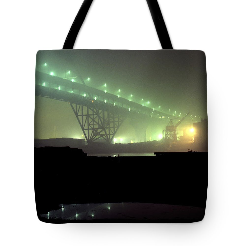 Night Photo Tote Bag featuring the photograph Nightscape 3 by Lee Santa