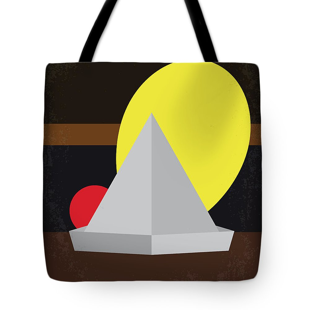 It Tote Bag featuring the digital art No043 My It Minimal Movie Poster by Chungkong Art