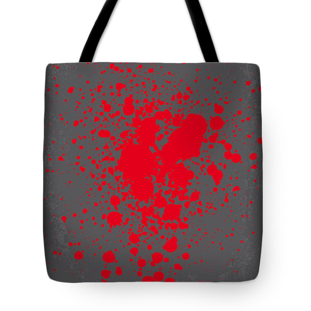 Pulp Tote Bag featuring the digital art No067 My Pulp Fiction Minimal Movie Poster by Chungkong Art