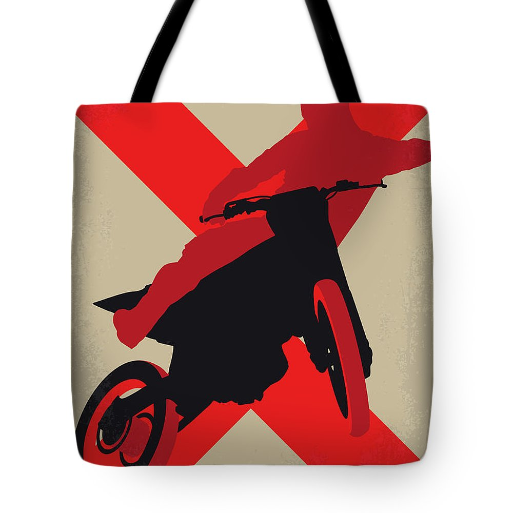 Xxx Tote Bag featuring the digital art No728 My Xxx Minimal Movie Poster by Chungkong Art