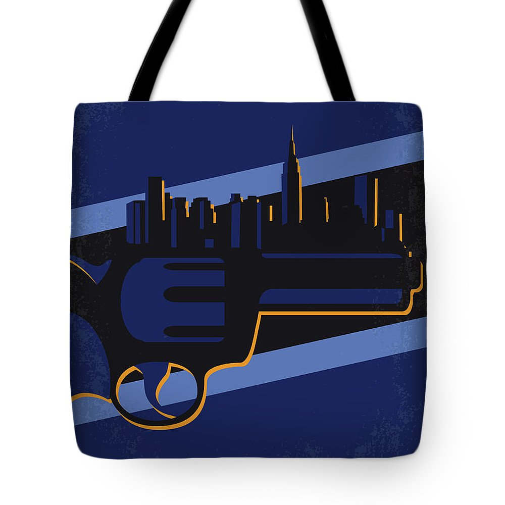 New Tote Bag featuring the digital art No762 My New Jack City Minimal Movie Poster by Chungkong Art