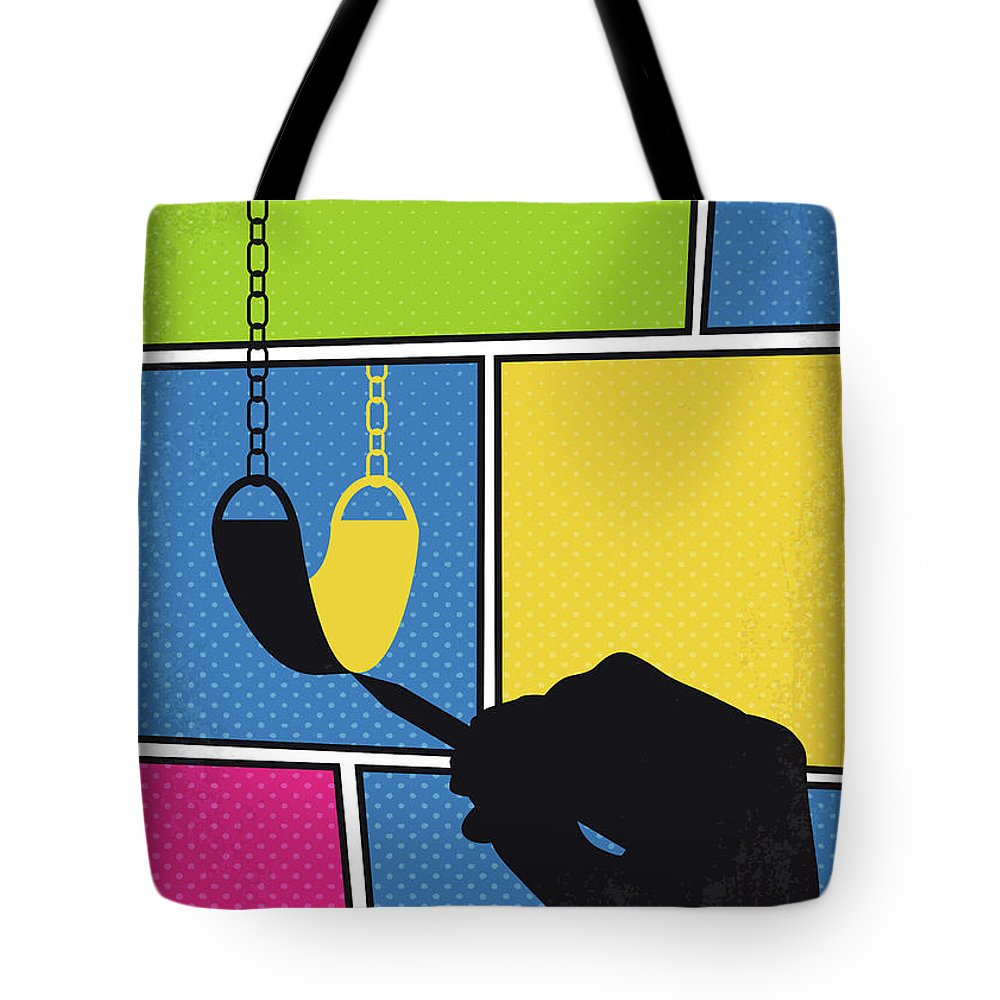 Chasing Tote Bag featuring the digital art No910 My Chasing Amy Minimal Movie Poster by Chungkong Art