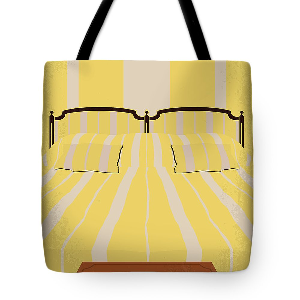 Hotel Tote Bag featuring the digital art No943 My Hotel Chevalier Minimal Movie Poster by Chungkong Art