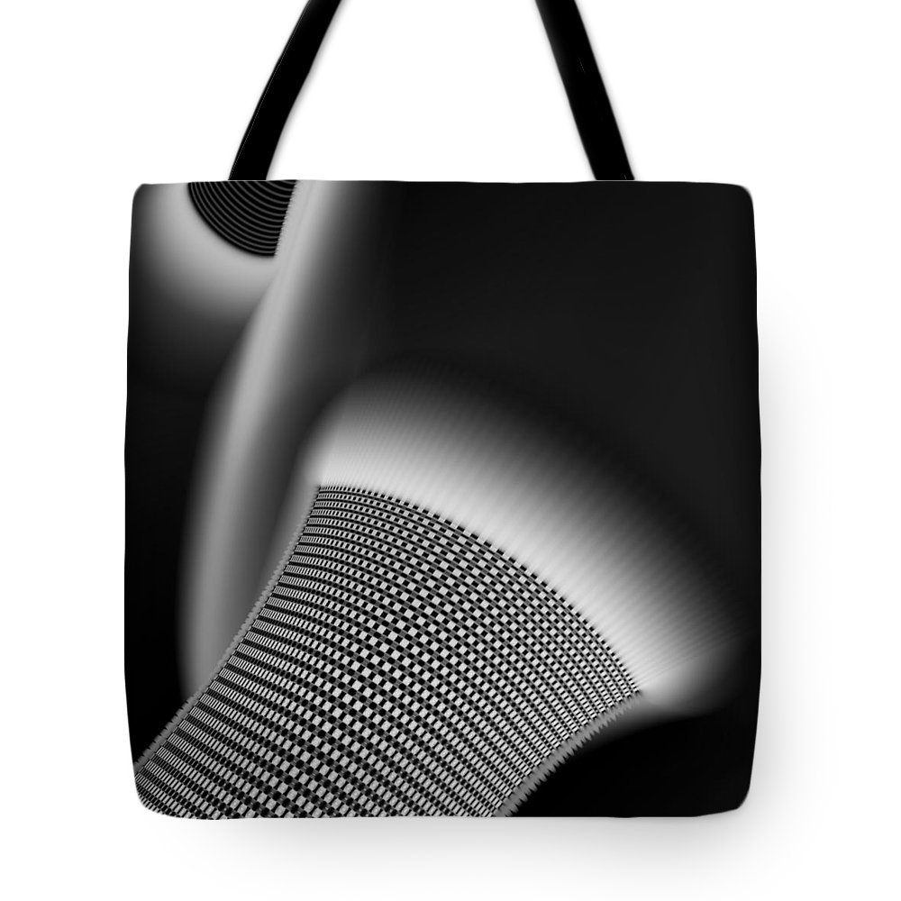 Vic Eberly Tote Bag featuring the digital art Nocturne 1 by Vic Eberly