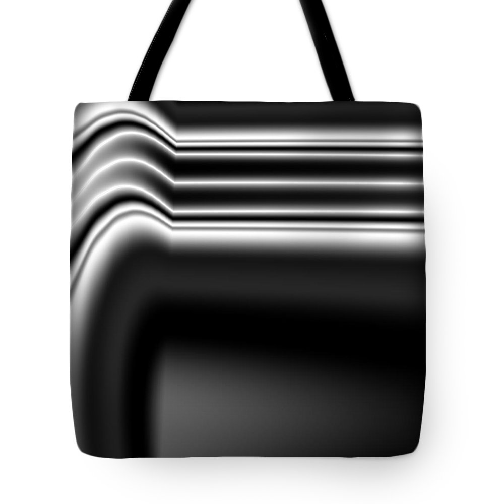 Vic Eberly Tote Bag featuring the digital art Nocturne 6 by Vic Eberly