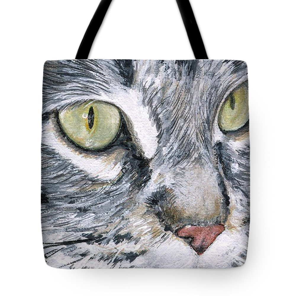 Charity Tote Bag featuring the painting Noel by Mary-Lee Sanders