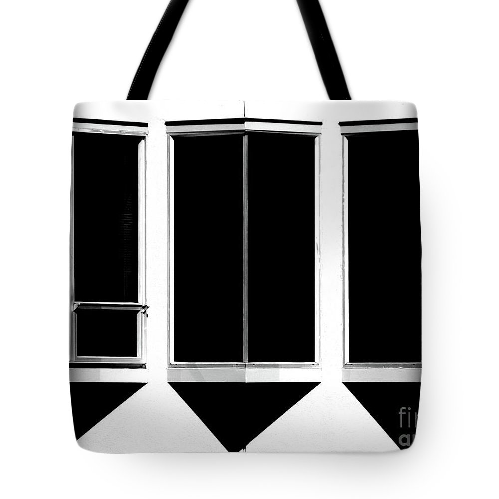 Cml Brown Tote Bag featuring the photograph None More Black by CML Brown