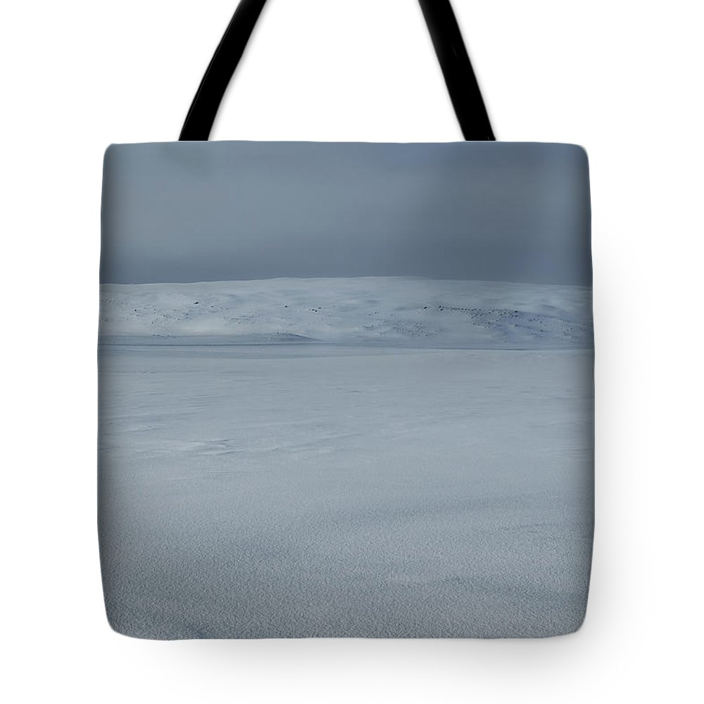 Iceland Tote Bag featuring the photograph North East Iceland Plateau by Andy Astbury