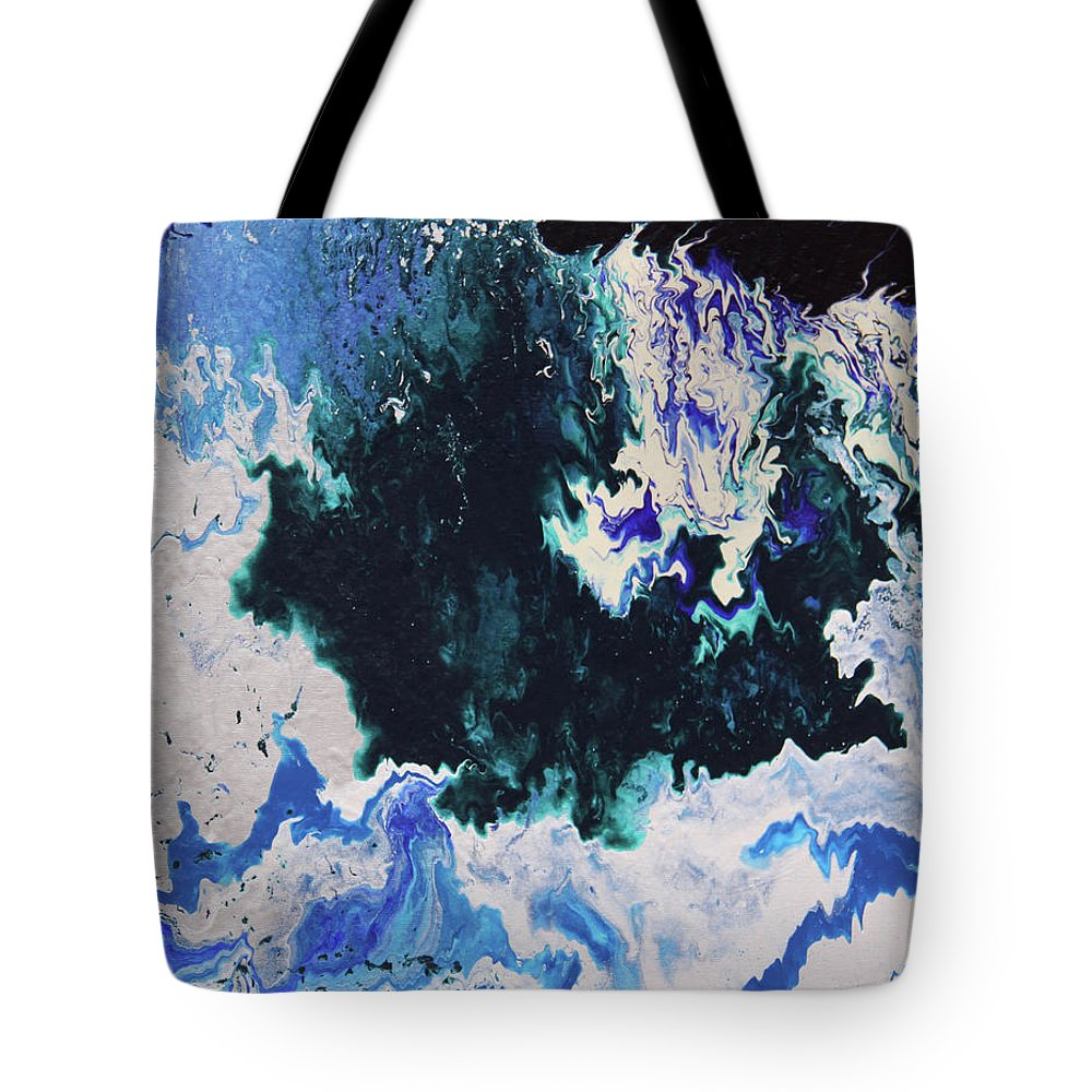 Fusionart Tote Bag featuring the painting North Shore by Ralph White