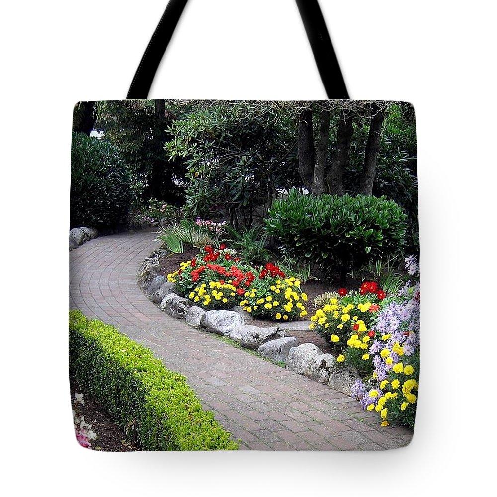 Garden Tote Bag featuring the photograph North Vancouver Garden by Will Borden