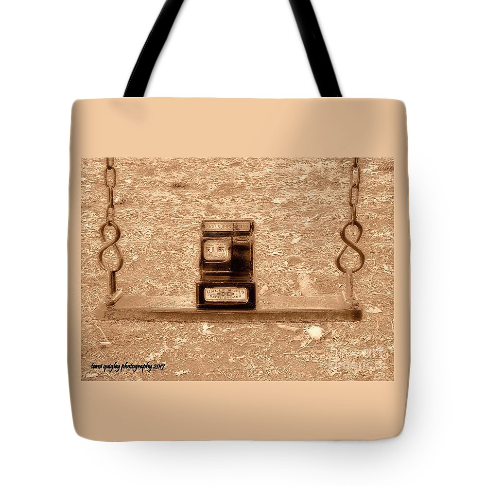 Nostalgic Tote Bag featuring the photograph Nostalgic Change by Tami Quigley