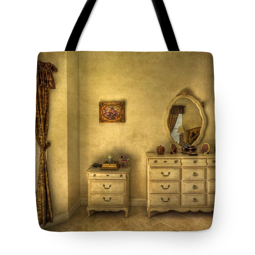 Room Tote Bag featuring the photograph Nostalgic Harmonies by Evelina Kremsdorf