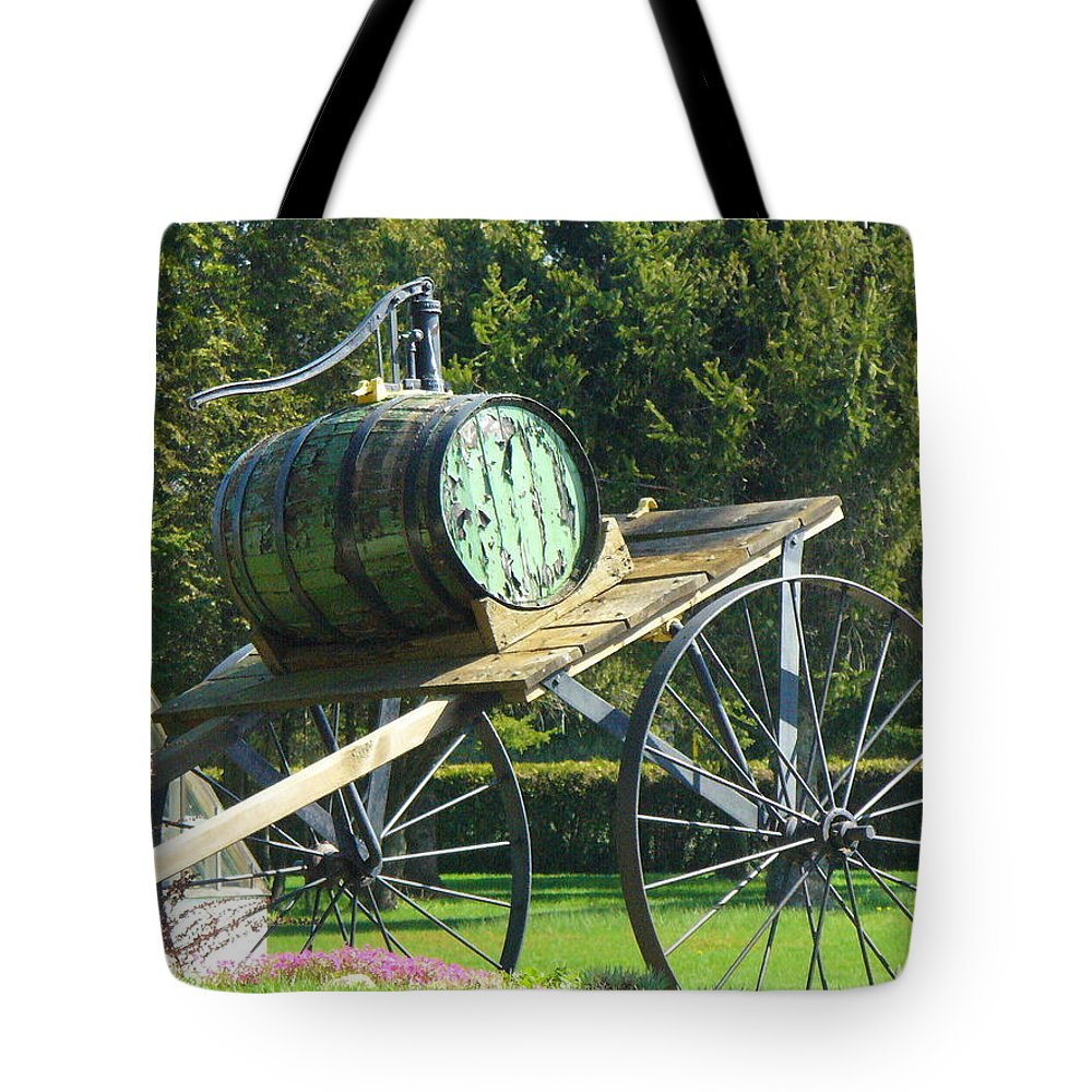 Tote Bag featuring the photograph Nostalgic by Peggy King