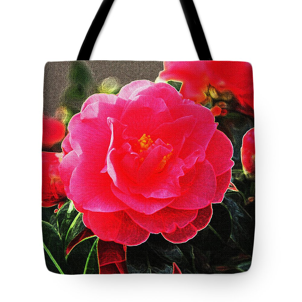 Not A Rose Tote Bag featuring the photograph Not A Rose by Tom Janca