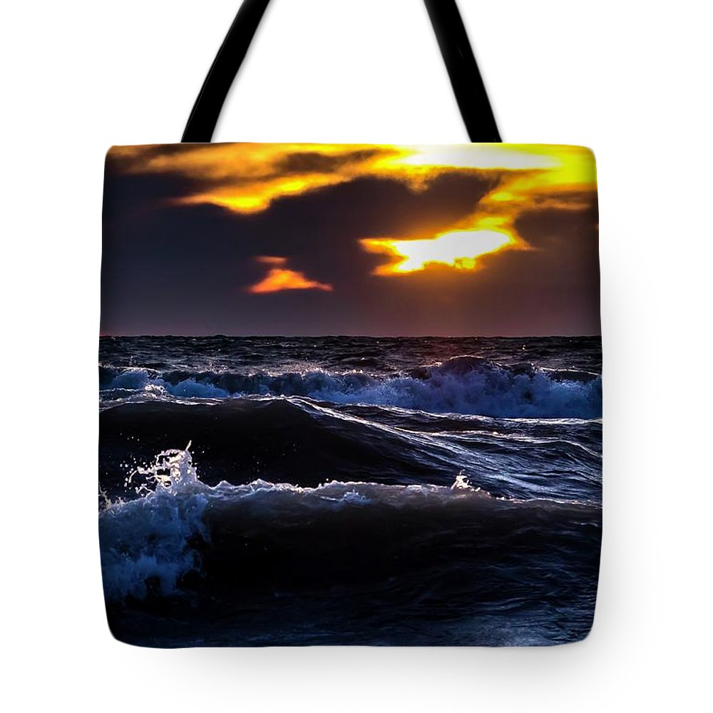 Tote Bag featuring the photograph Not A Storm by Terri Hart-Ellis