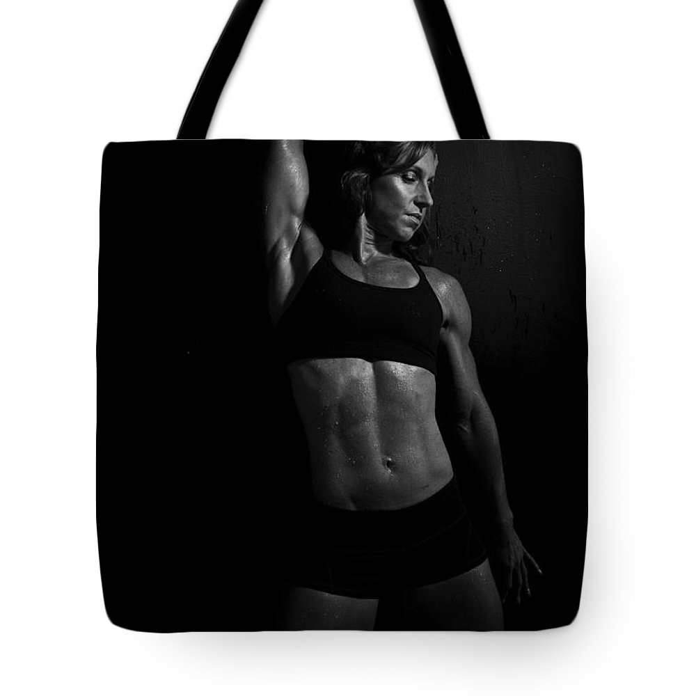 Fitness Tote Bag featuring the photograph Not Just Squats by Monte Arnold