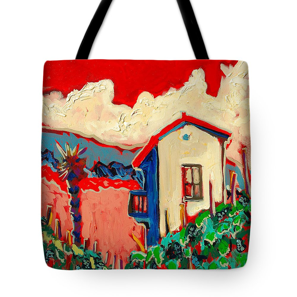 Tuscany Tote Bag featuring the painting Notare by Kurt Hausmann