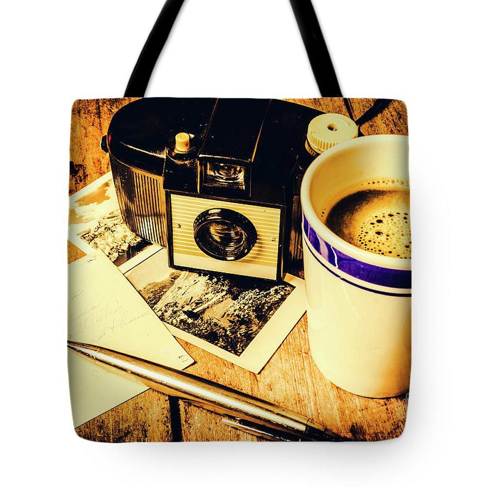 Nostalgia Tote Bag featuring the photograph Notes Of Past Recollection by Jorgo Photography - Wall Art Gallery