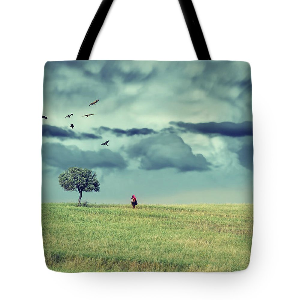 Field Tote Bag featuring the photograph Nothing Remains As It Was by Stelios Kleanthous