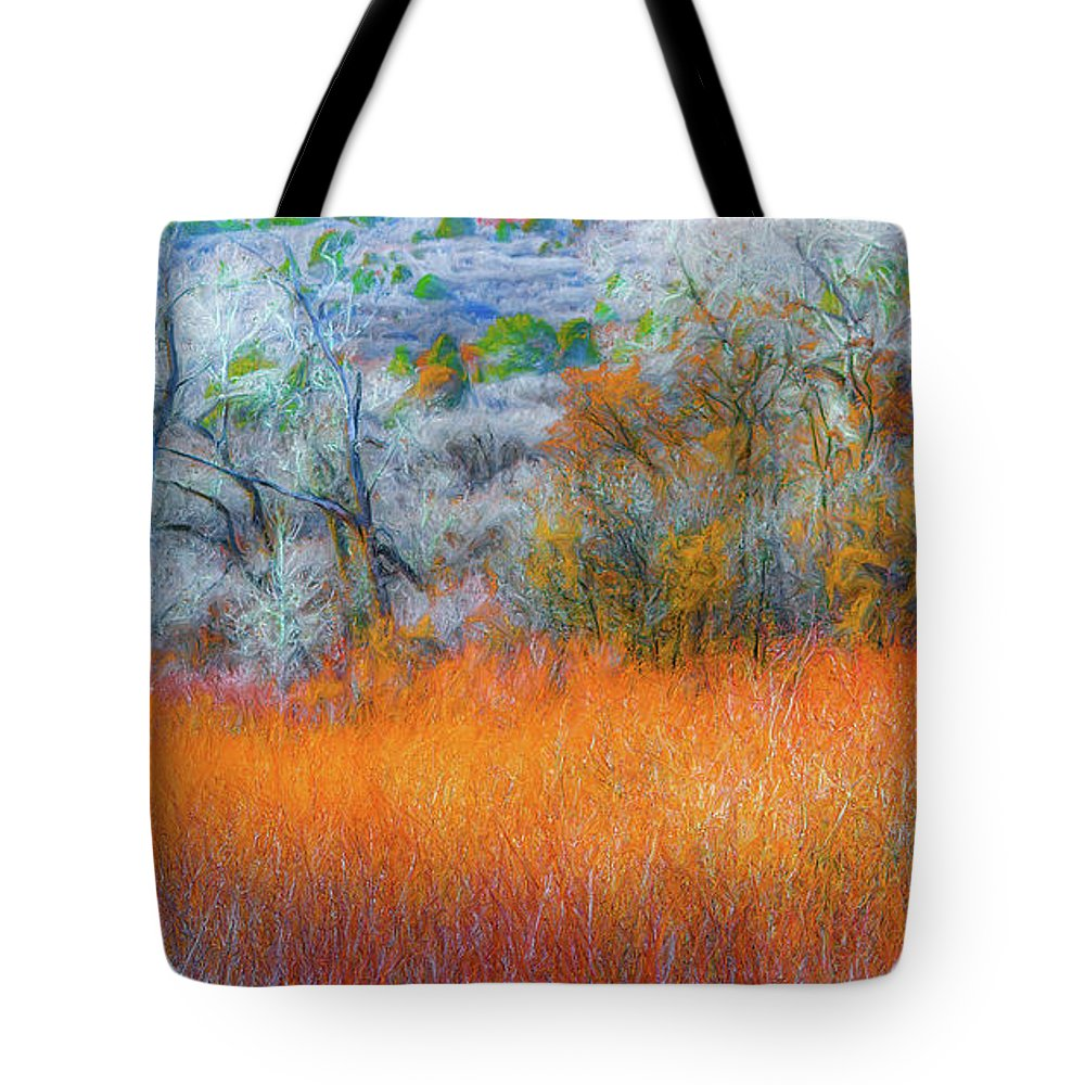 Tote Bag featuring the photograph November by Dean Arneson