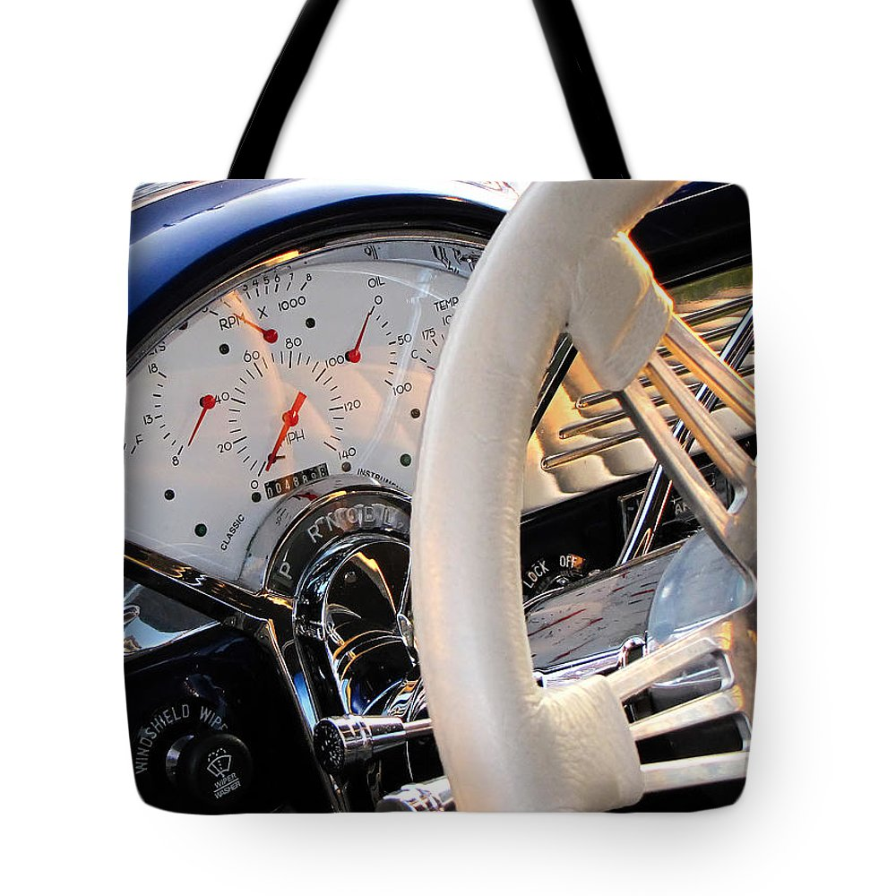 Dashboard Tote Bag featuring the photograph Now That's A Dashboard by Gary Adkins