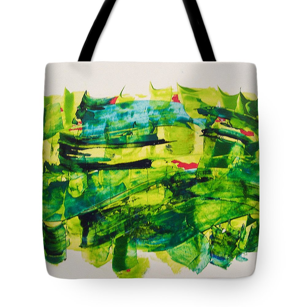 Nowruz Tote Bag featuring the painting Nowruz by Afsaneh Taebi