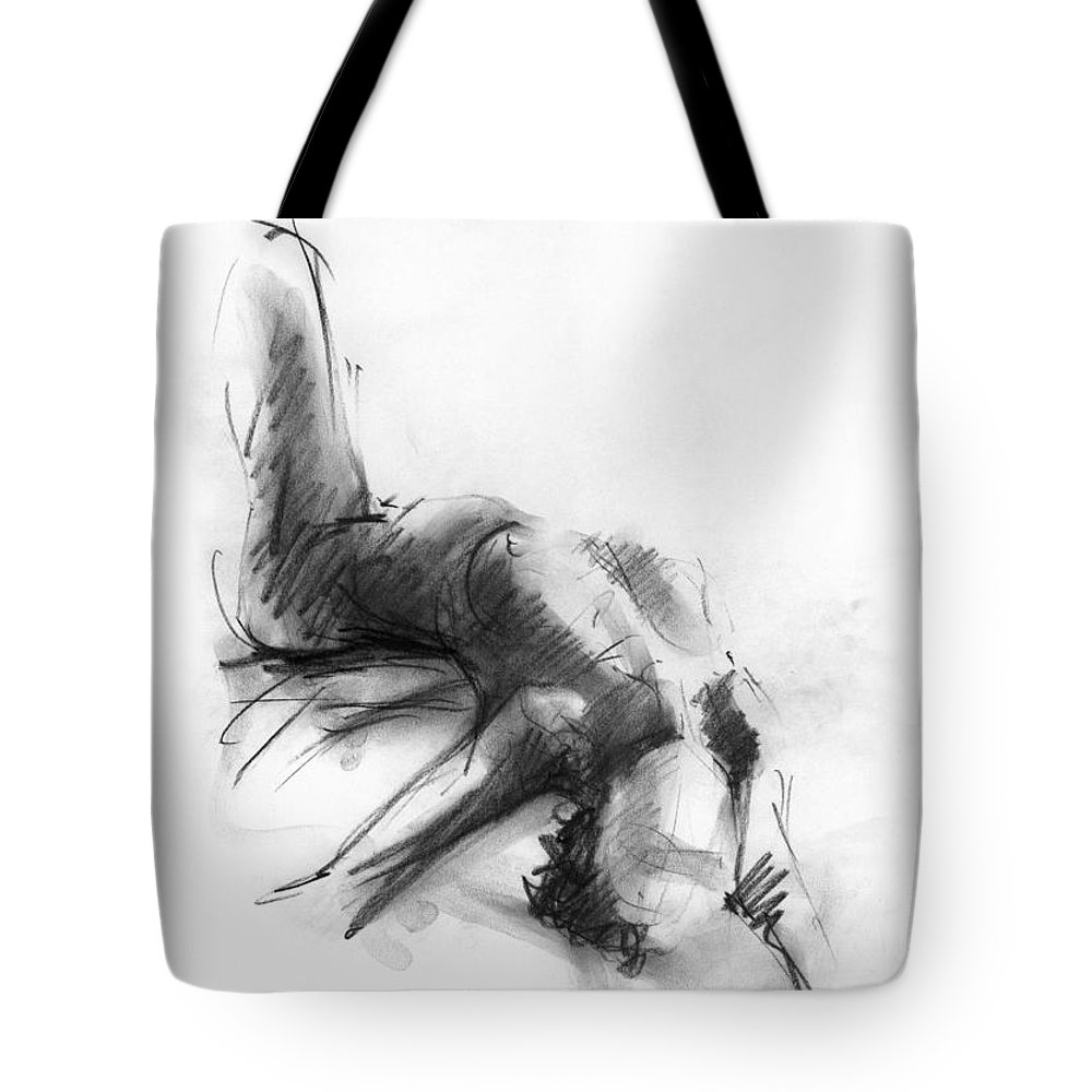 Women Drawings Tote Bags