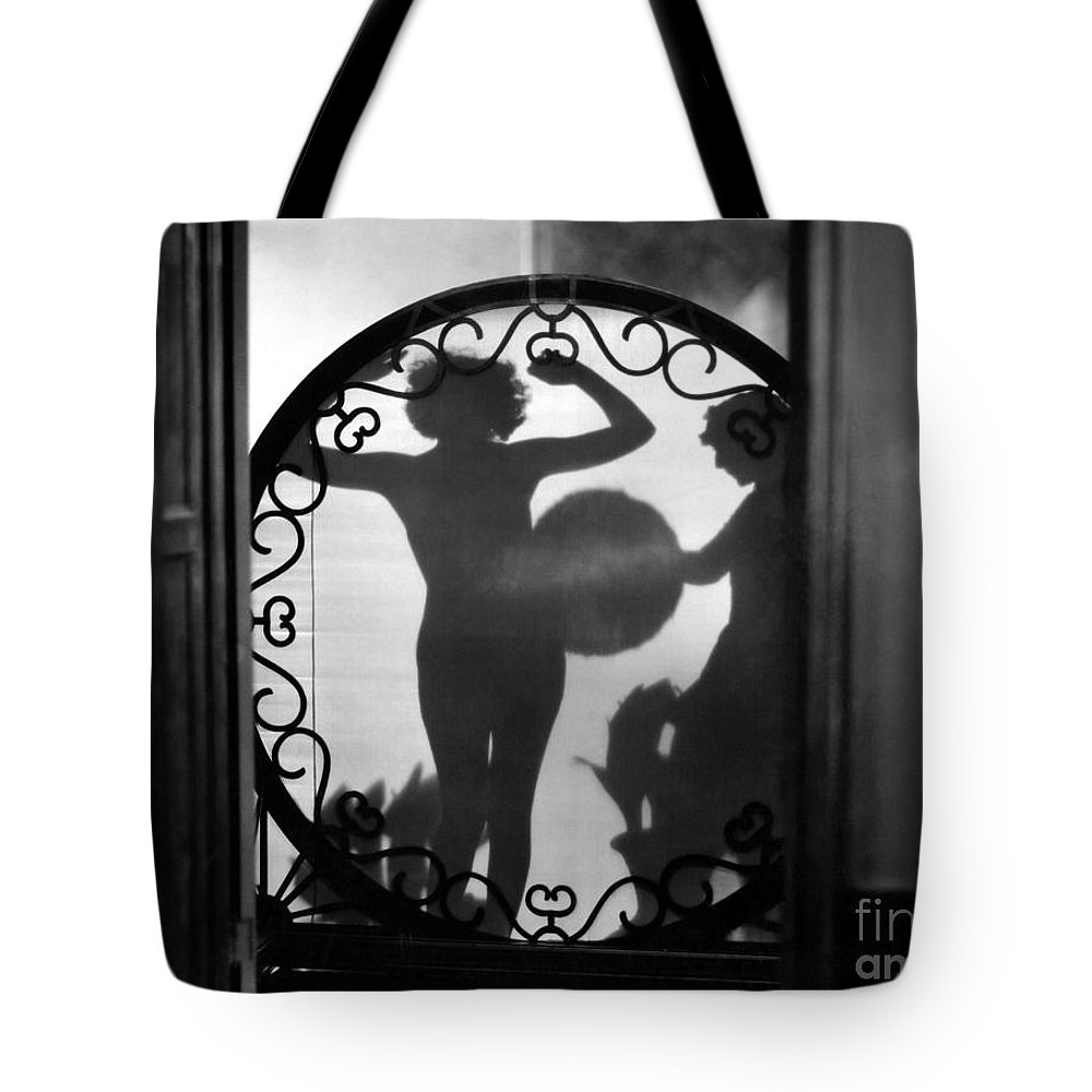 1920s Tote Bag featuring the painting Nude Shadow, 1920s by Granger