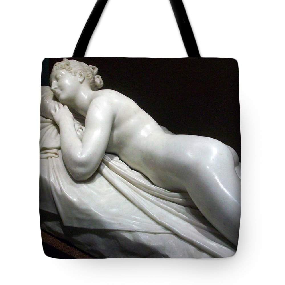 Nude Woman Tote Bag featuring the photograph Nude Woman by Munir Alawi