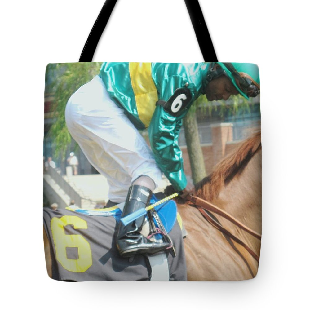 Horse Tote Bag featuring the photograph Number Six by Ian MacDonald