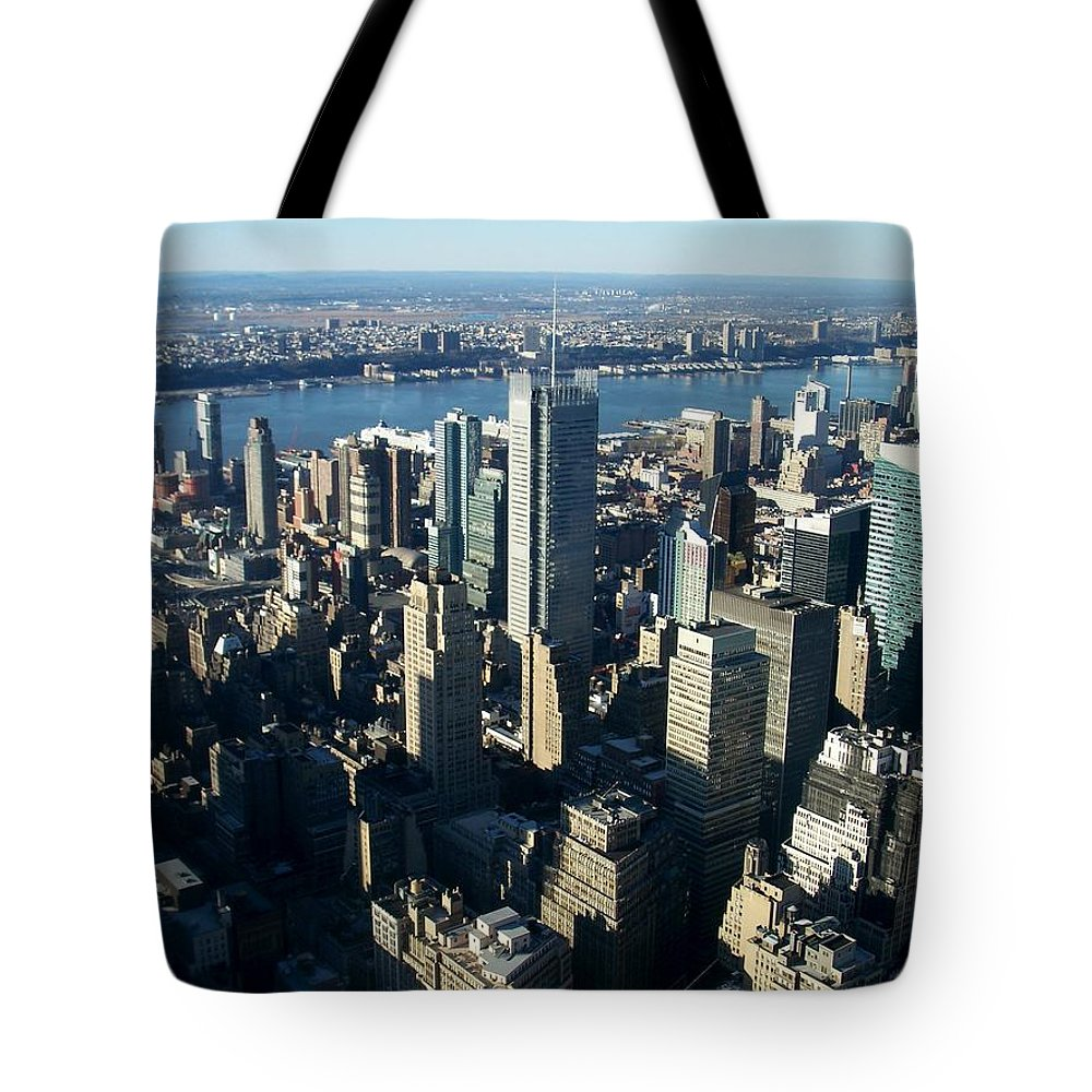 Nyc Tote Bag featuring the photograph Nyc 1 by Anita Burgermeister