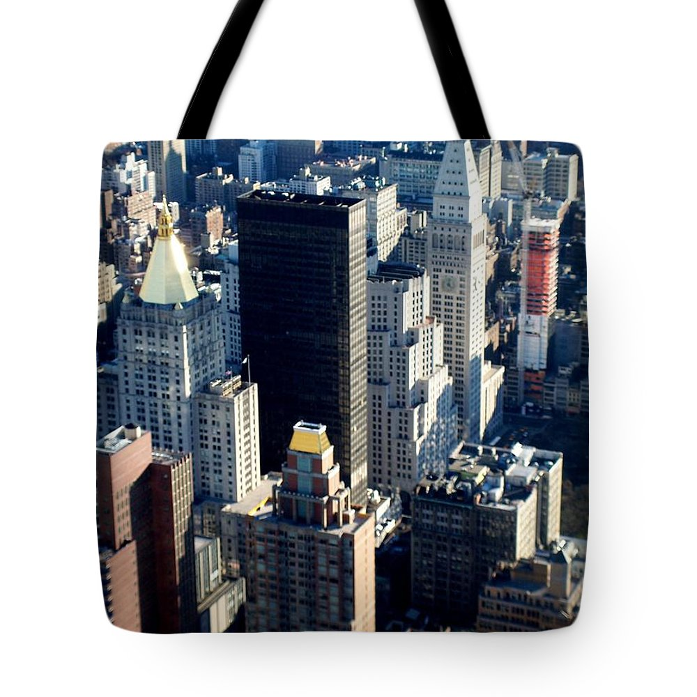 Nyc Tote Bag featuring the photograph Nyc 2 by Anita Burgermeister