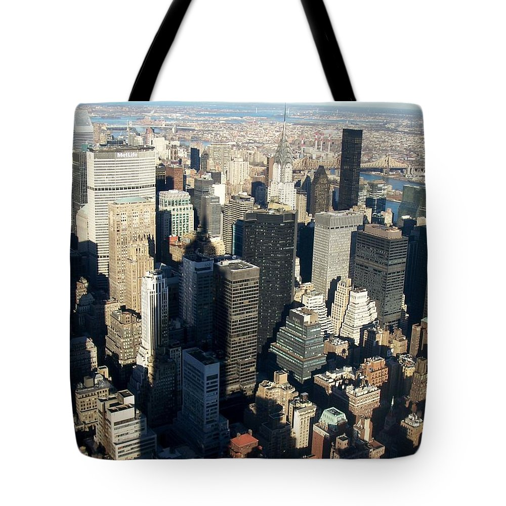 Nyc Tote Bag featuring the photograph Nyc 3 by Anita Burgermeister