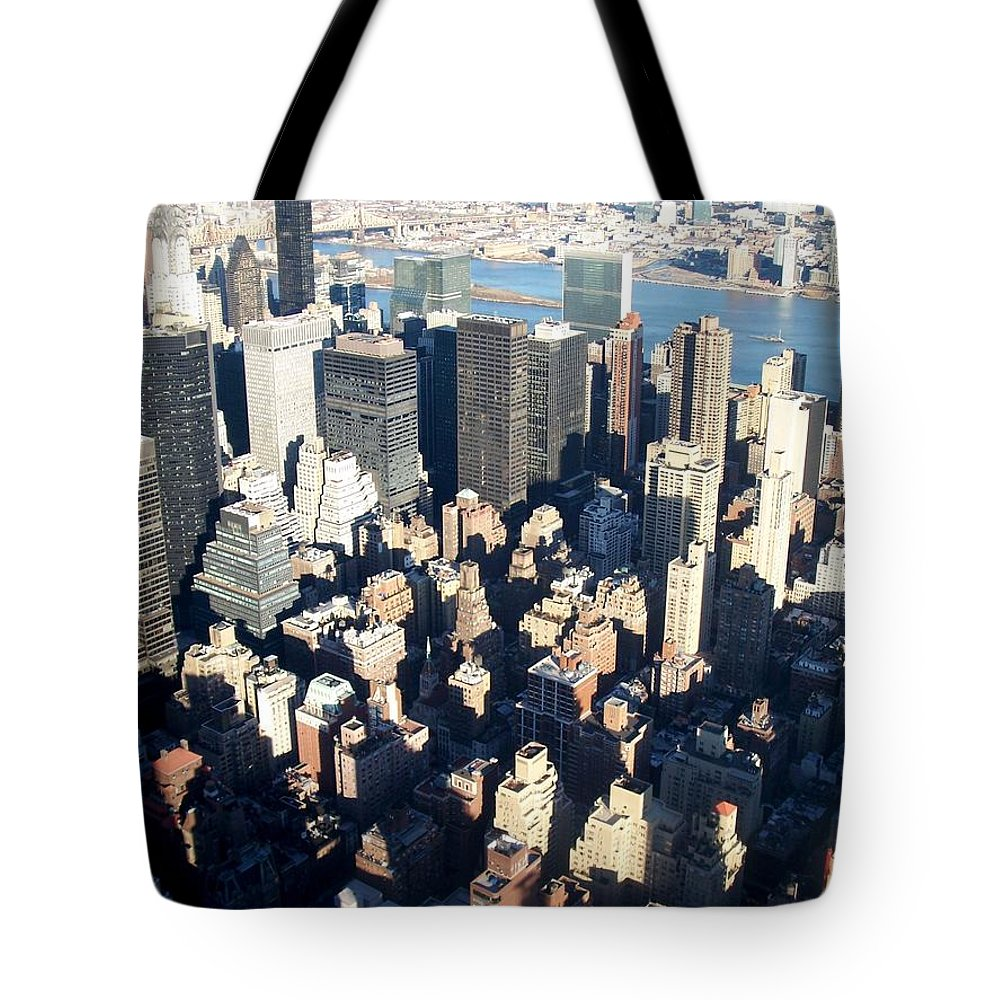 Nyc Tote Bag featuring the photograph Nyc 4 by Anita Burgermeister