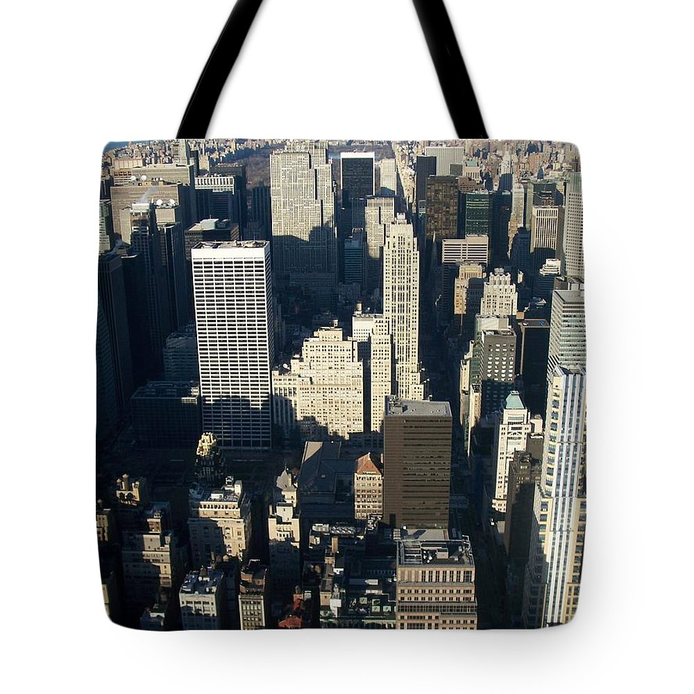 Nyc Tote Bag featuring the photograph Nyc 5 by Anita Burgermeister