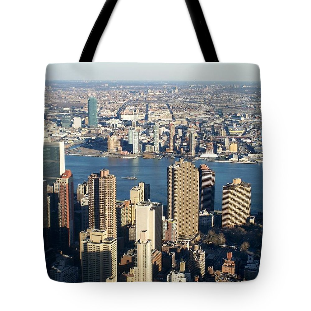 Nyc Tote Bag featuring the photograph Nyc 6 by Anita Burgermeister