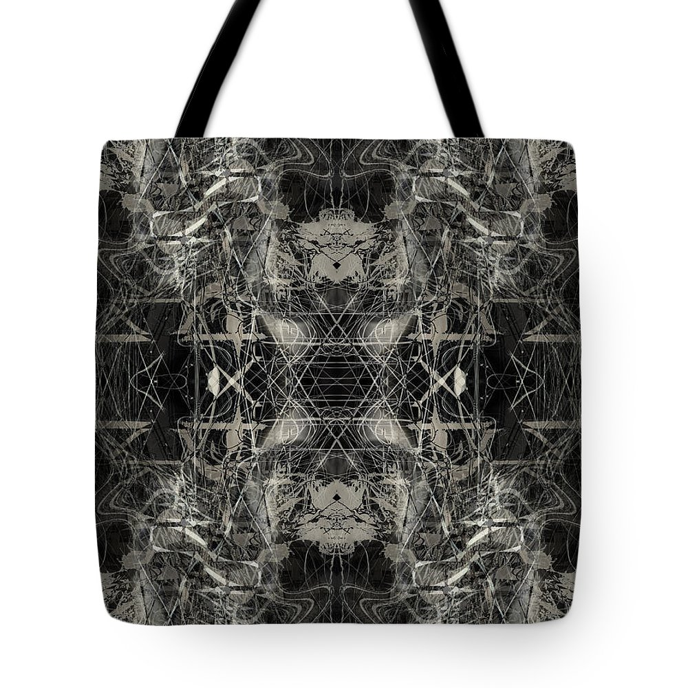 Deep Tote Bag featuring the digital art Oa-4859 by Standa1one