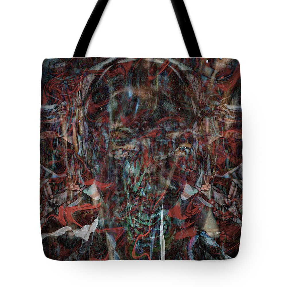 Deep Tote Bag featuring the digital art Oa-5977 by Standa1one
