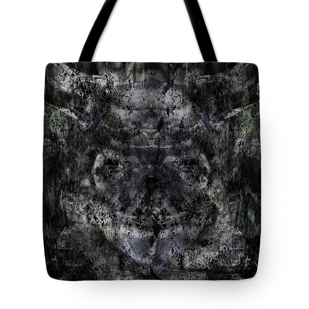 Deep Tote Bag featuring the digital art Oa-6035 by Standa1one