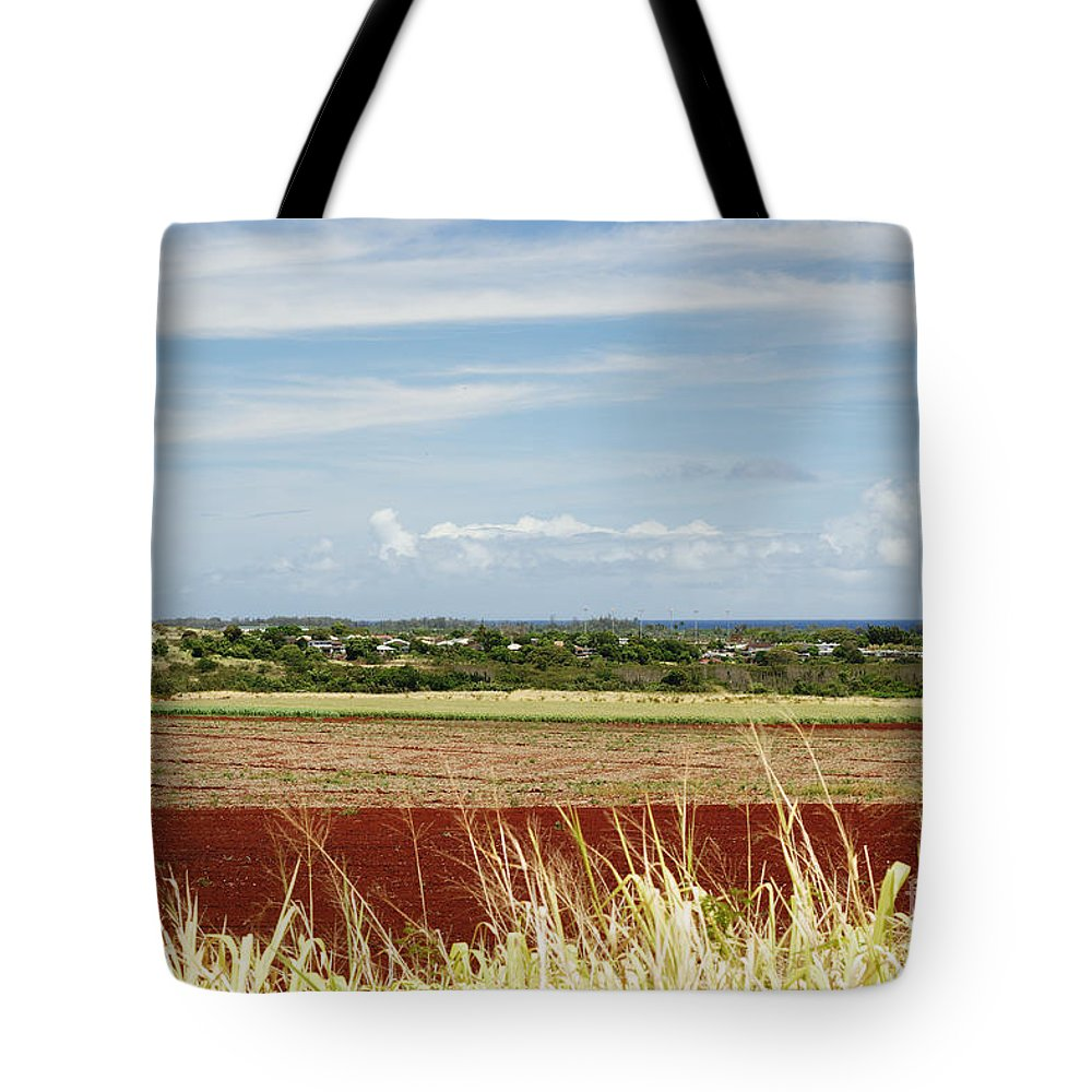 Afternoon Tote Bag featuring the photograph Oahu, Wailua by Vince Cavataio - Printscapes