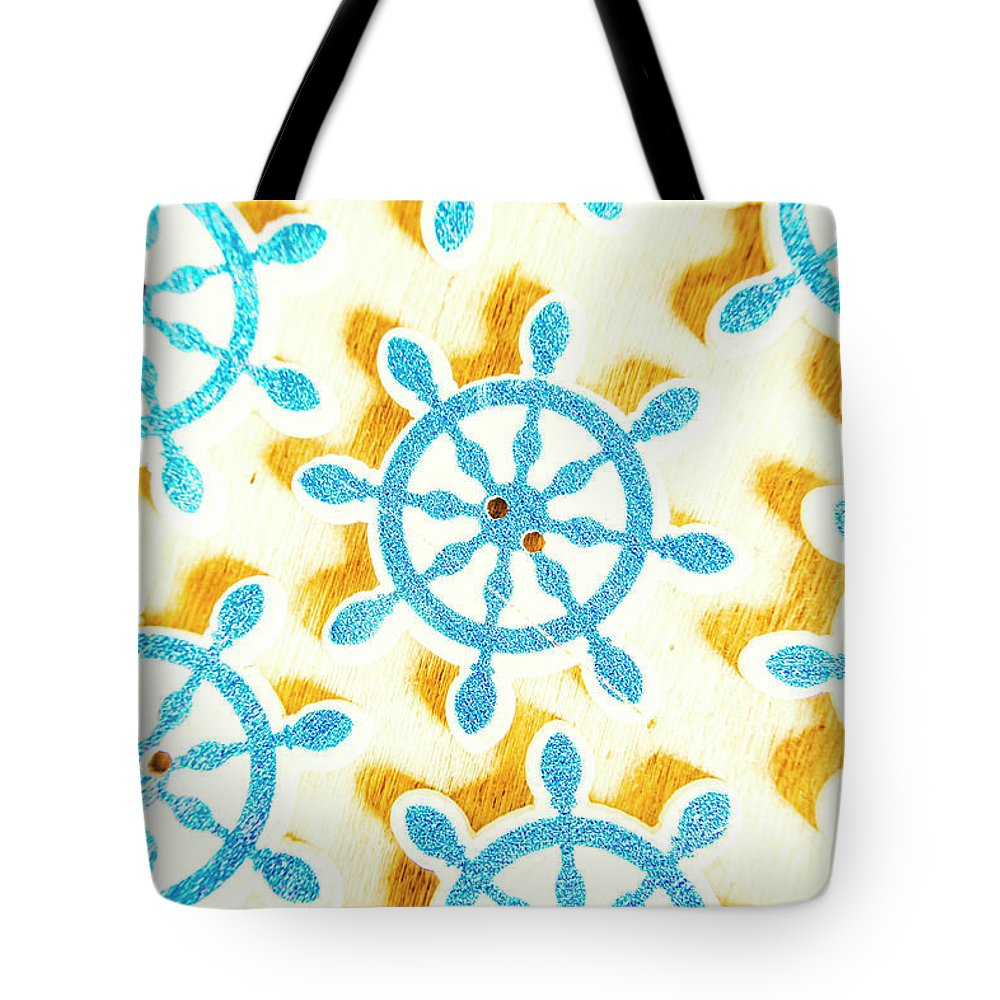 Yacht Tote Bag featuring the photograph Ocean Circles by Jorgo Photography - Wall Art Gallery