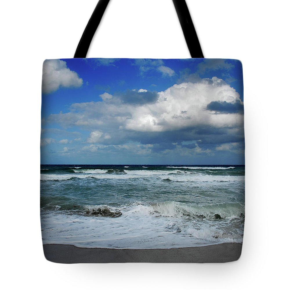 Ocean Tote Bag featuring the photograph Ocean by Harry Spitz
