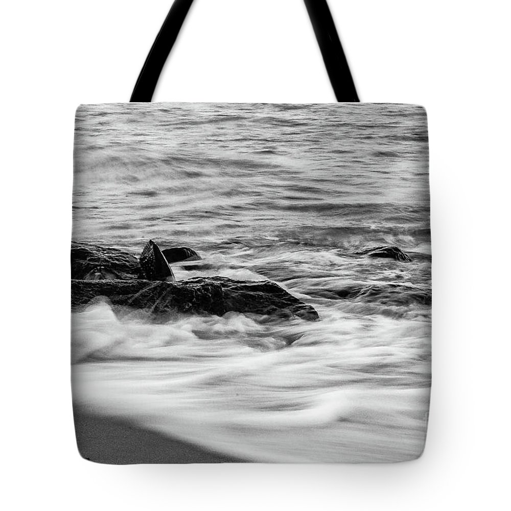 Ocean Wave Tote Bag featuring the photograph Ocean Wave by John Farley