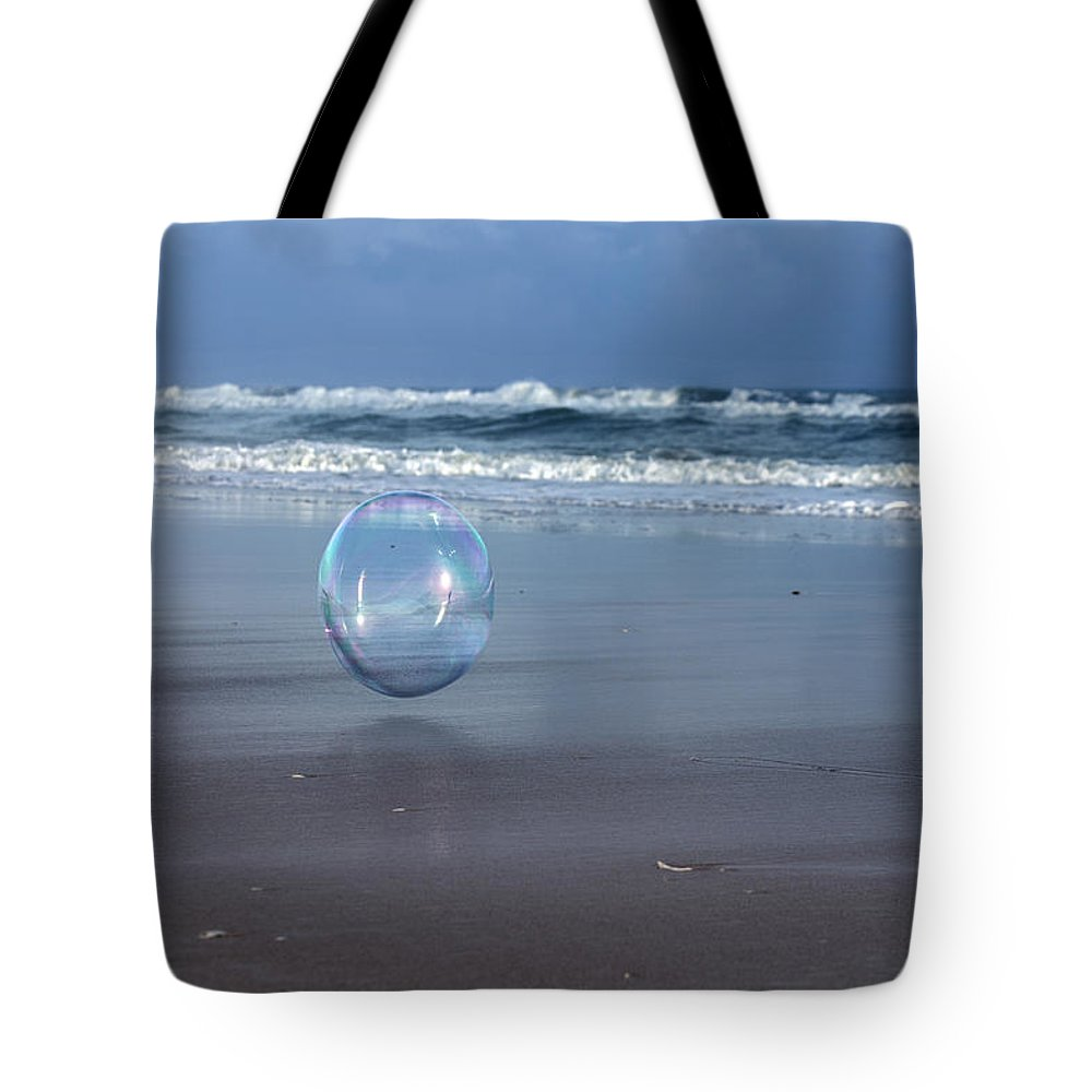 Bubble Tote Bag featuring the photograph Oceanic Sphere by Betsy Knapp