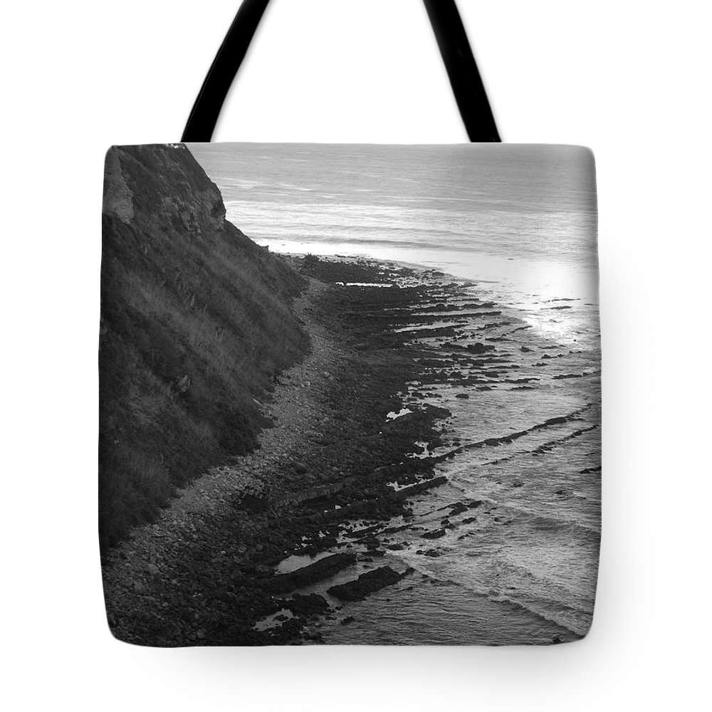 Beaches Tote Bag featuring the photograph Oceans Edge by Shari Chavira